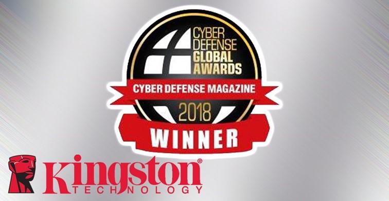 Kingston Technology získala niekoľko ocenení od Cyber Defense Magazine