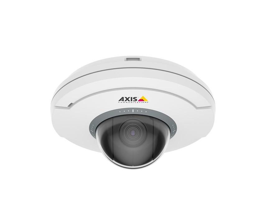 Axis uvádza PTZ kameru o veľkosti dlane s bezdrôtovým pripojením vstupov a výstupov