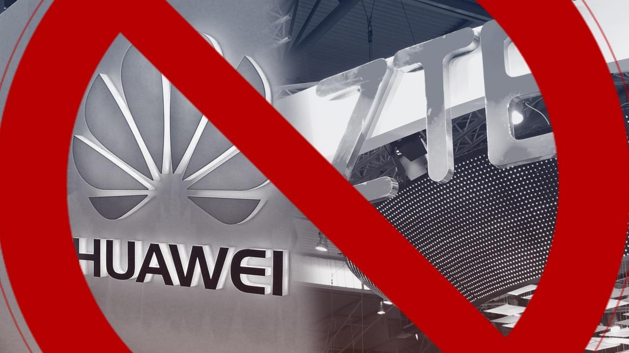 "Trump podpísal ""Huawei Ban"""